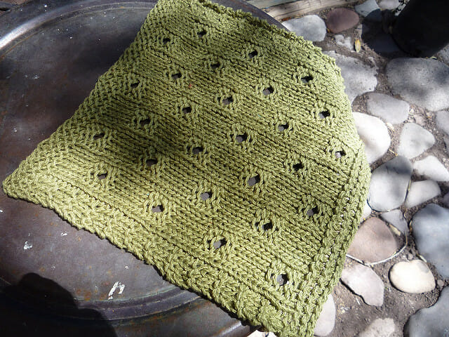 Free Dishcloth Pattern Hip To Be Square Faerwear